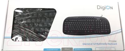 Клавиатура DigiOn PT350MBK