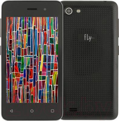 Смартфон Fly FS405 Stratus 4 (черный)