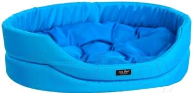 Лежанка для животных Ami Play Exclusive AMI429 (S, голубой)