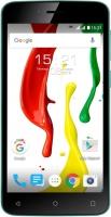 Смартфон Fly Nimbus 7 / FS505 (черный/зеленый) -