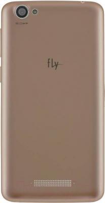 Смартфон Fly Nimbus 7 / FS505 (белый/золото) - сменная задняя панель