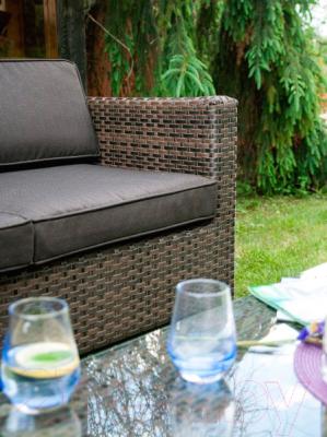 Комплект садовой мебели Garden4you Queens 12907 (темно-коричневый)