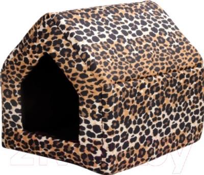 Домик для животных Ami Play Crazy AMI525 (L, леопард)