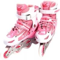Роликовые коньки Bradex DE 0098 (L, розовый) -