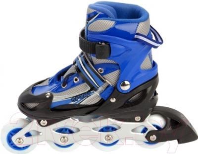 Роликовые коньки Bradex DE 0099 (L, синий)