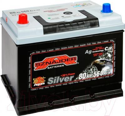 Автомобильный аккумулятор Sznajder Silver 580 72 (80 А/ч)