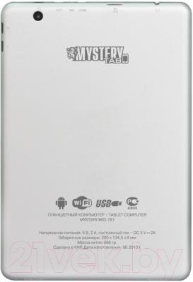 Планшет Mystery MID-781 (серебристый)