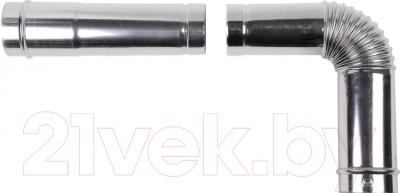 Дымоход для котла Daewoo DGB-80E-EXT-L1000 1м (80)