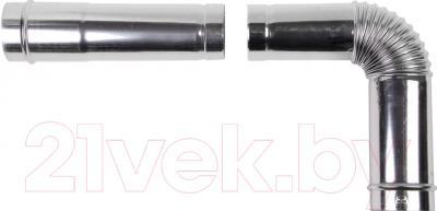 Дымоход для котла Daewoo DGB-80E-EXT-L500 0.5м (80)