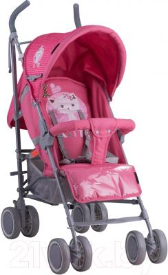 Детская прогулочная коляска Lorelli Fiesta Pink Kitten (10020731612A)