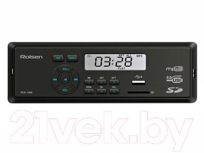 Бездисковая автомагнитола Rolsen RCR-100B