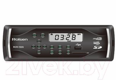 Бездисковая автомагнитола Rolsen RCR-102G