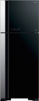 Холодильник с морозильником Hitachi R-VG542PU3GBK -