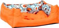 Лежанка для животных Ami Play Crazy AMI481 (S, оранжевый) -