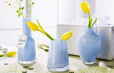 Ваза настольная Villeroy & Boch Mini-Vases Numa (мягкий синий) - вид в интерьере