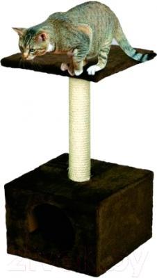 Домик с когтеточкой Lilli Pet Amethyst 04-34643 (коричневый)