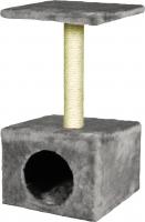 Домик с когтеточкой Lilli Pet Amethyst 04-34642 (серый) -