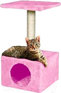 Домик с когтеточкой Lilli Pet Lilli Girl 20-8115 (розовый)