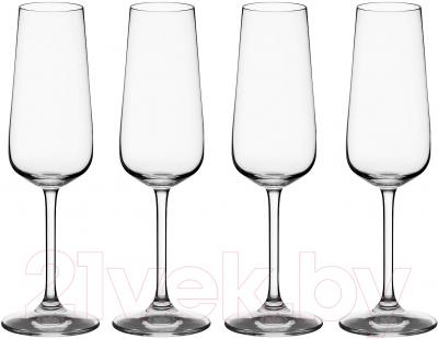 Набор бокалов для шампанского Villeroy & Boch Ovid (4шт)