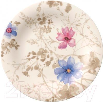 Набор для чая/кофе Villeroy & Boch Mariefleur Gris Basic (18пр) - столовая тарелка 21 см