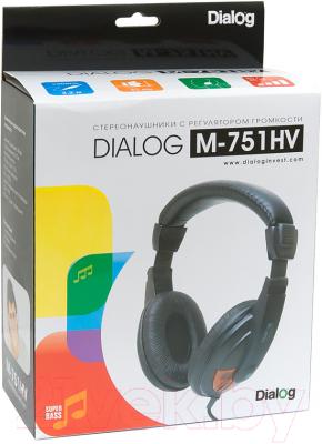 Наушники Dialog M-751HV