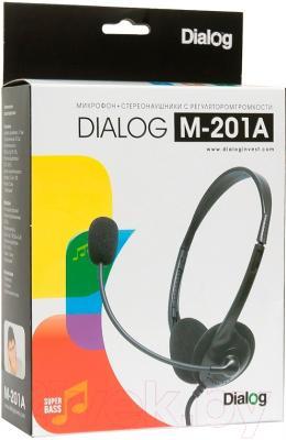 Наушники-гарнитура Dialog M-201A