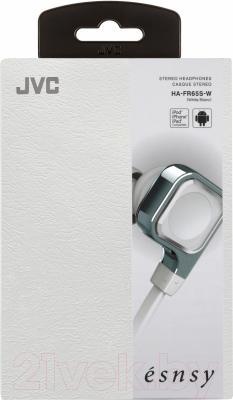 Наушники-гарнитура JVC HA-FR65S-W (белый)