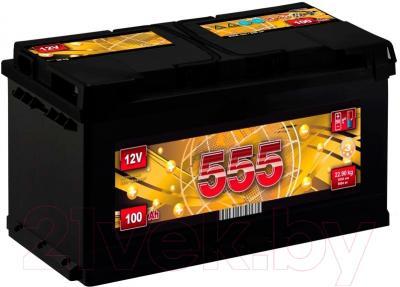 Автомобильный аккумулятор 555 100 L (100 А/ч)