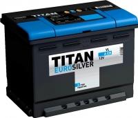 Автомобильный аккумулятор TITAN Euro Silver 60 R / MK000003654 (60 А/ч) -
