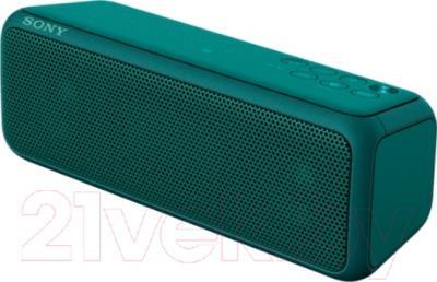 Портативная колонка Sony SRS-XB3G (зеленый)