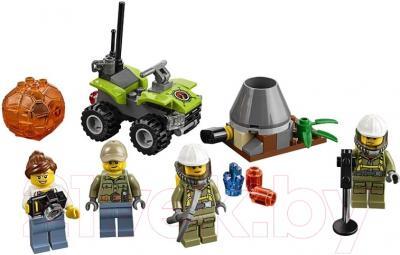 Конструктор Lego City Набор для начинающих: Исследователи вулканов (60120)