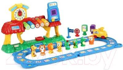 Развивающая игрушка Vtech Обучающая железная дорога 80-069626