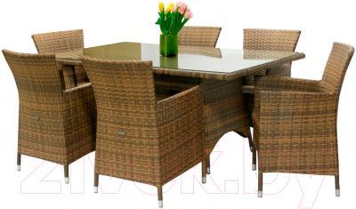 Комплект садовой мебели Garden4you Wicker 13332/61 (капучино)
