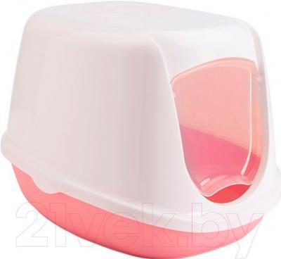 Туалет-домик Savic Duchesse 200000WX (бело-розовый)