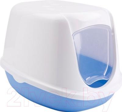 Туалет-домик Savic Duchesee 20000WPB (бело-голубой)