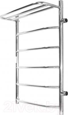 Полотенцесушитель водяной АРГО Флоран 50x100 с полочкой (боковое подключение, правое)