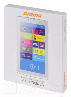 Планшет Digma Plane 7004 (белый)
