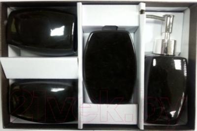 Набор аксессуаров для ванной Максресурс BH082-1 (черный)