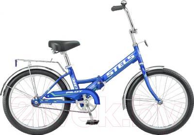 Велосипед Stels Pilot 310 2016 (синий)