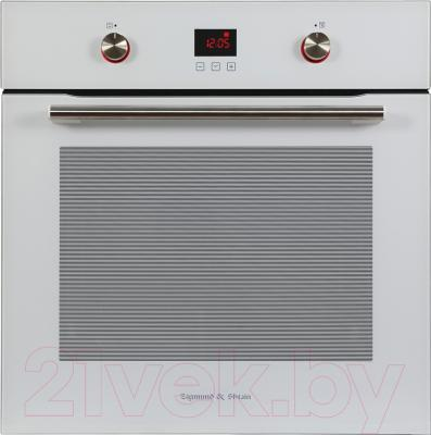 Электрический духовой шкаф Zigmund & Shtain EN 262.722 W