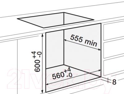 Электрический духовой шкаф Zigmund & Shtain EN 282.722 I