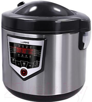 Мультиварка Lumme LU-1446 Chef Pro (черный/сталь)
