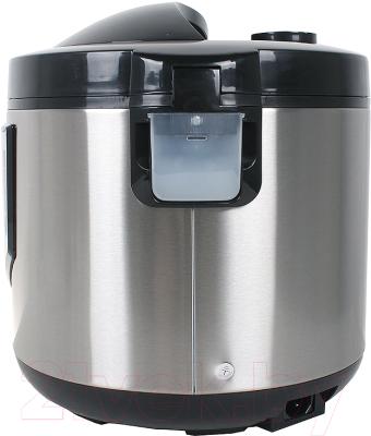 Мультиварка Lumme LU-1446 Chef Pro (черный/сталь) - вид сзади