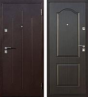 Входная дверь Йошкар Стройгост 7-2 Венге (86x206, правая) -