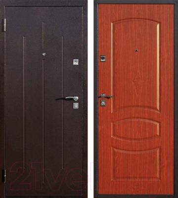 металлические двери входные 2мм цены