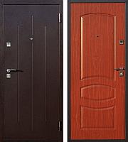 Входная дверь Йошкар Стройгост 7-2 Итальянский орех (98x206, правая) -