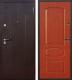 Входная дверь Йошкар Стройгост 7-2 Итальянский орех (96x205, правая) -