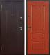 Входная дверь Йошкар Стройгост 7-2 Итальянский орех (98x206, левая) -