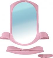 Комплект мебели для ванной Белпласт Купалинка с275-2830 (розовый) -
