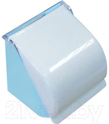 Держатель для туалетной бумаги Белпласт с216-2830 (голубой)